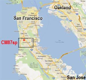 Cm87sp Grid Square Map W6AER QTH