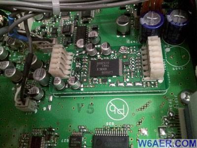 Yaesu FT950 DVS Unit Install