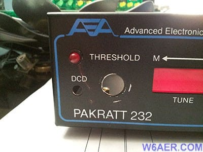 AEA Timewave PK232 Upgrade