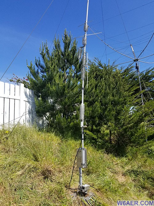 HF9V with 160m Antenna Modification