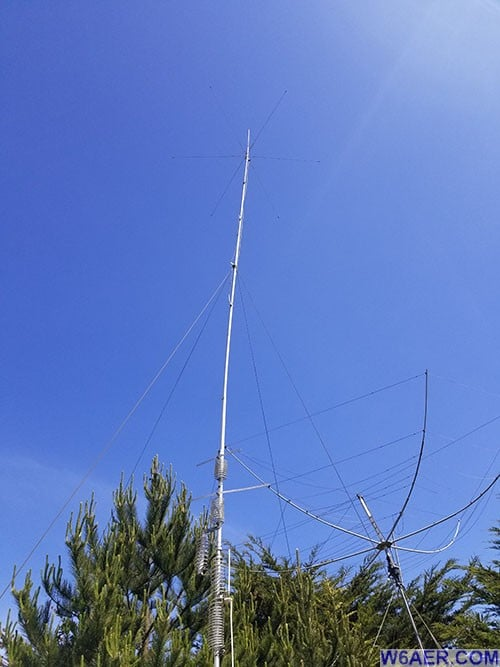 HF9V Antenna Installation & Modifications » W6AER- Pacifica