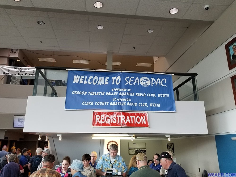 Seapac Ham Radio Conference Oregon Coast 2017