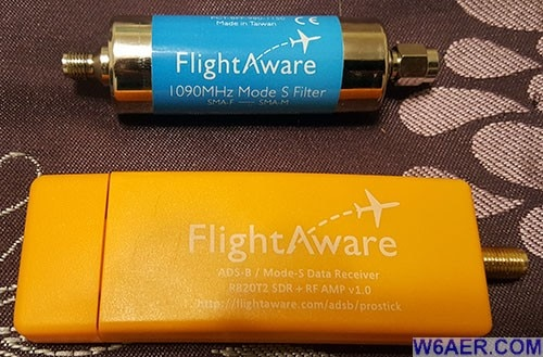 Flightaware USB Dongle 1090 Mhz Filter