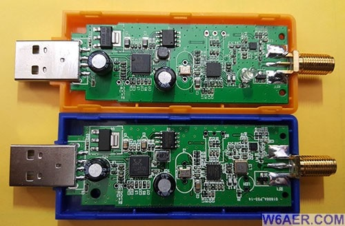 Flightaware USB Dongle SDR Compare