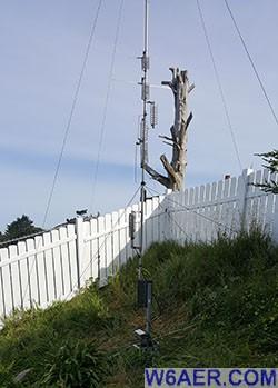 Antenna Farm » W6AER- Pacifica, California, USA