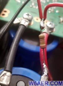 Astron RS-70M Power Supply LED Modification Resistor