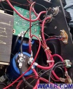 Astron RS-70M Power Supply LED and Fan Modification