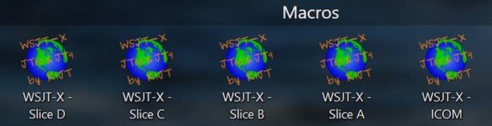 WSJT-X Macro Settings